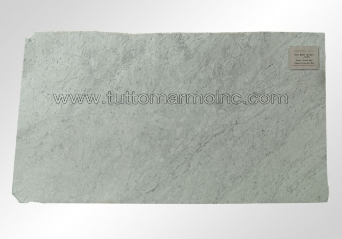 Bianco Carrara C honed